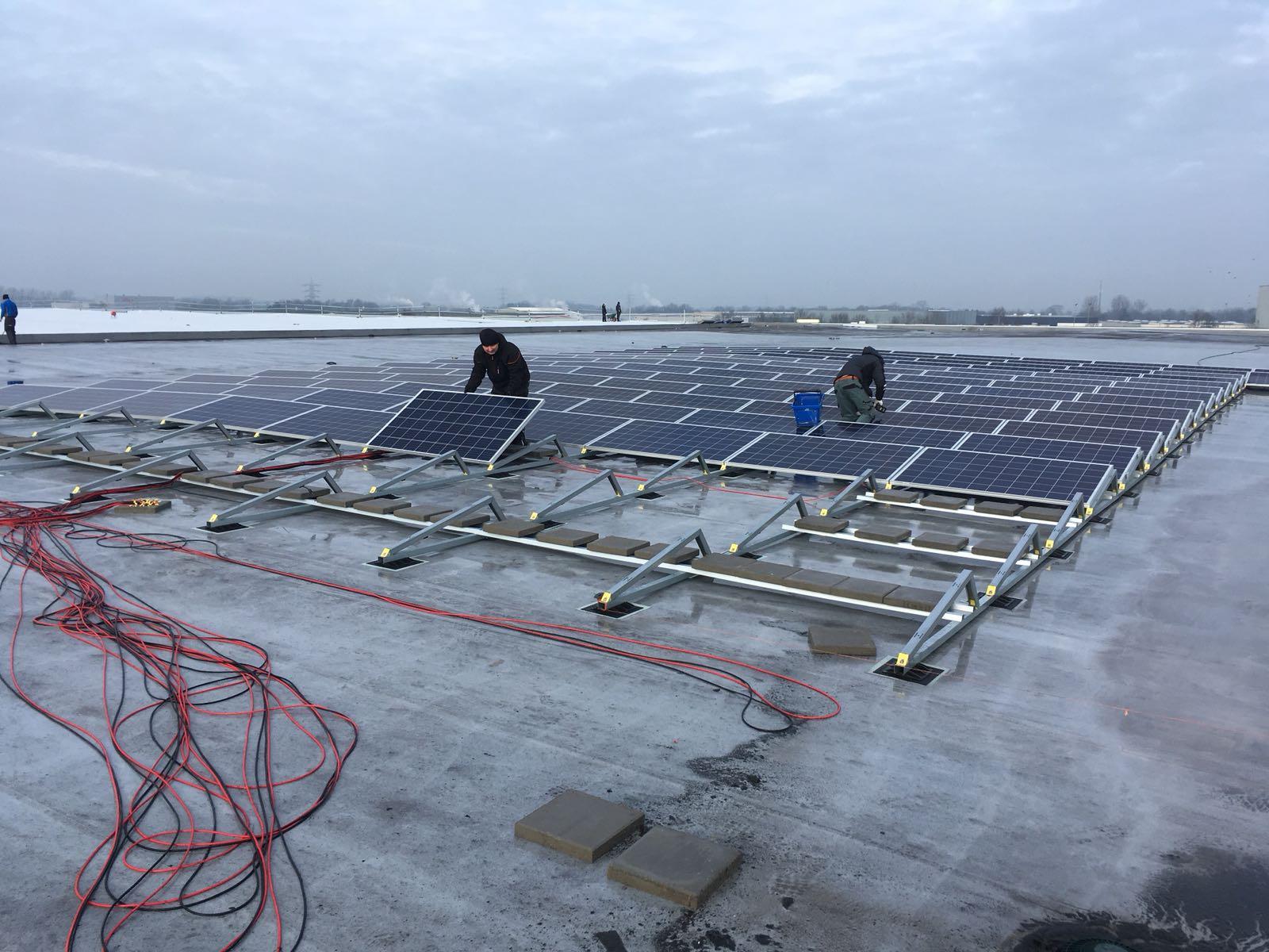 Thumbnail Plaatsing zonnepanelen nieuwbouw