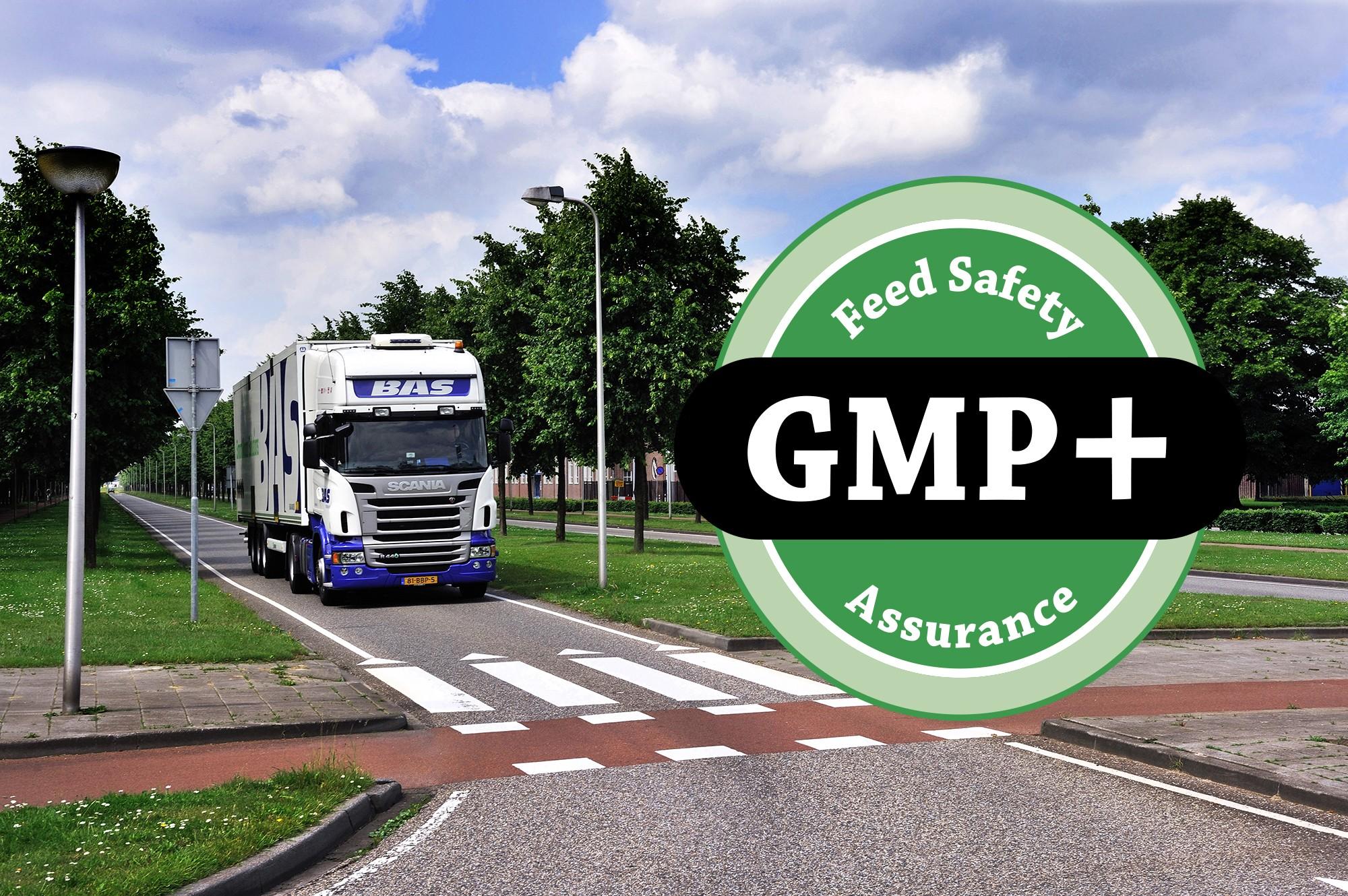 Thumbnail BAS Logistics ontvangt wederom GMP+ certificering
